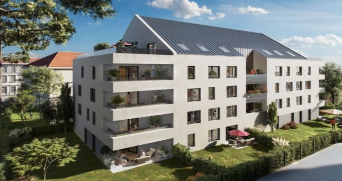 Achat / Vente appartement neuf Colmar aux portes du centre historique (68000) - Réf. 5715