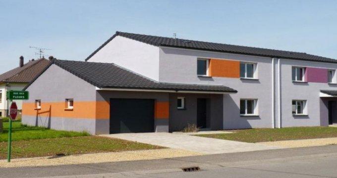 Achat / Vente appartement neuf Freistroff quartier résidentiel (57320) - Réf. 23