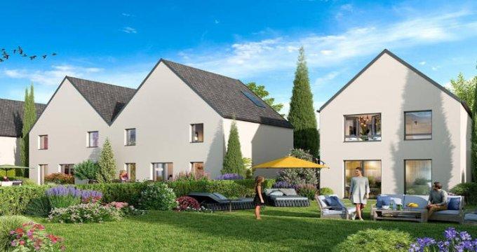 Achat / Vente appartement neuf Gries grandes maisons à l'orée de la forêt (67240) - Réf. 5188