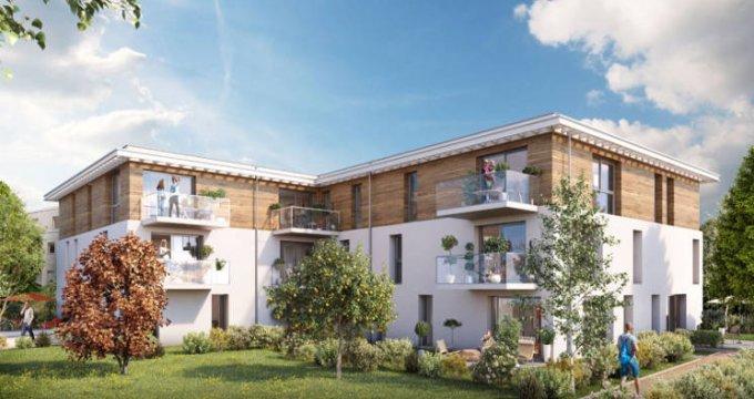 Achat / Vente appartement neuf Mulhouse au cœur du quartier résidentiel de Dornach (68100) - Réf. 4636