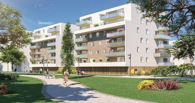 Achat / Vente appartement neuf Mulhouse au pied du tramway (68100) - Réf. 4451