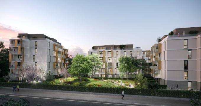 Achat / Vente appartement neuf Mulhouse proche des Halles (68100) - Réf. 5373