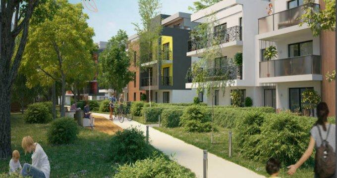 Achat / Vente appartement neuf Saint-Louis à quelques minutes de la Suisse (68300) - Réf. 4432