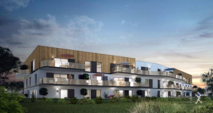 Achat / Vente appartement neuf Souffelweyersheim proche canal de la Marne au Rhin (67460) - Réf. 3016