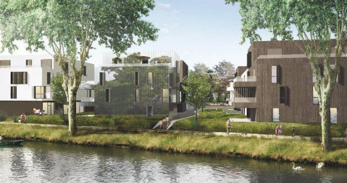 Achat / Vente appartement neuf Strasbourg quartier de la Robertsau (67000) - Réf. 4995