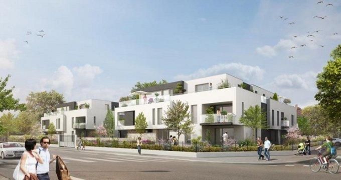 Achat / Vente appartement neuf Strasbourg quartier Robertsau (67000) - Réf. 154