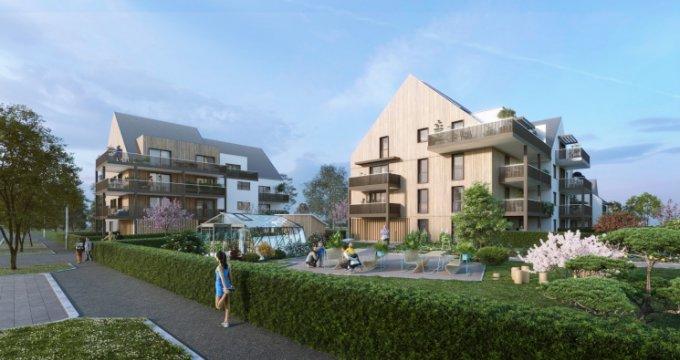 Achat / Vente appartement neuf Strasbourg quartier Sud Neuhof (67000) - Réf. 5456