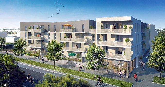 Achat / Vente appartement neuf Vandoeuvre-lès-Nancy coeur de ville TVA réduite (54500) - Réf. 221