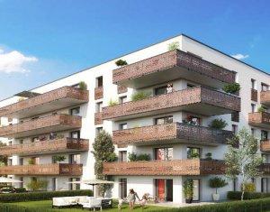 Achat / Vente appartement neuf Huningue proche des quais du Maroc et du Rhin (68330) - Réf. 3423