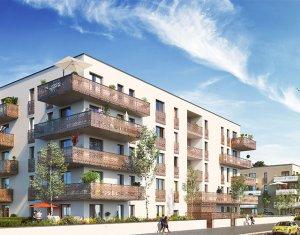 Achat / Vente appartement neuf Huningue proche Square Soustons (68330) - Réf. 3422