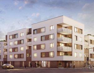 Achat / Vente appartement neuf Illkirch-Graffenstaden proche centre Strasbourg (67400) - Réf. 4345