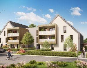Achat / Vente appartement neuf La Wantzenau proche centre (67610) - Réf. 1237