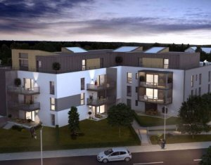 Achat / Vente appartement neuf Saint-Louis en plein cœur du quartier des 3 Frontières (68300) - Réf. 4079