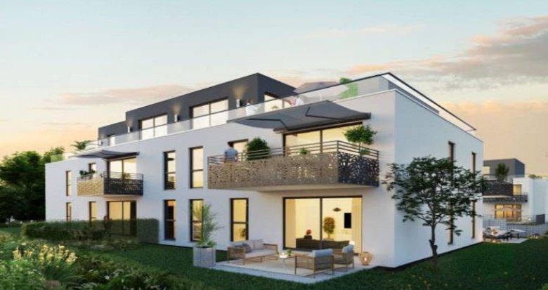 Achat / Vente appartement neuf Bartenheim à 10 min de la gare (68870) - Réf. 4677