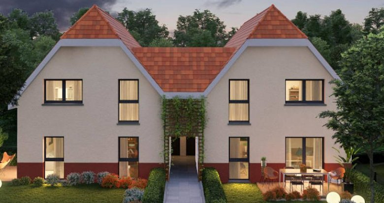 Achat / Vente appartement neuf Boersch à 4 kilomètres d'Obernai (67530) - Réf. 3886