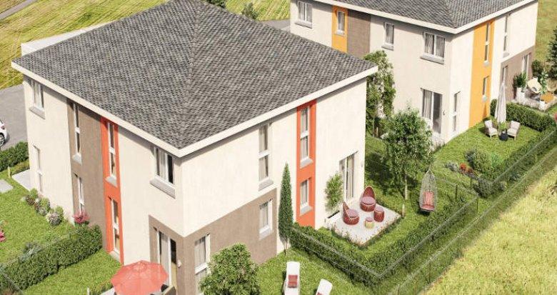 Achat / Vente appartement neuf Fessenheim proche frontière Suisse (68740) - Réf. 4506