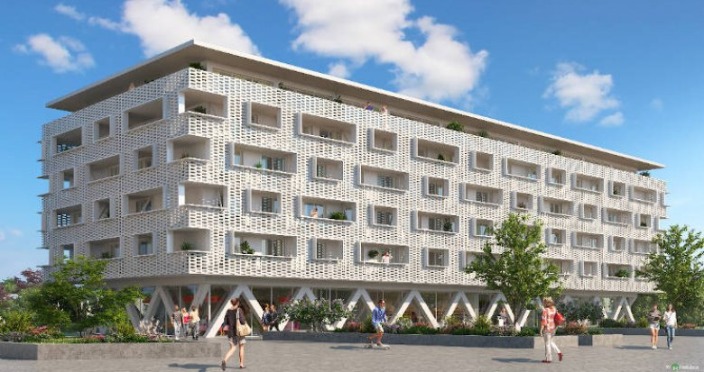 Achat / Vente appartement neuf Illkirch-Graffenstaden proche tramway (67400) - Réf. 3850