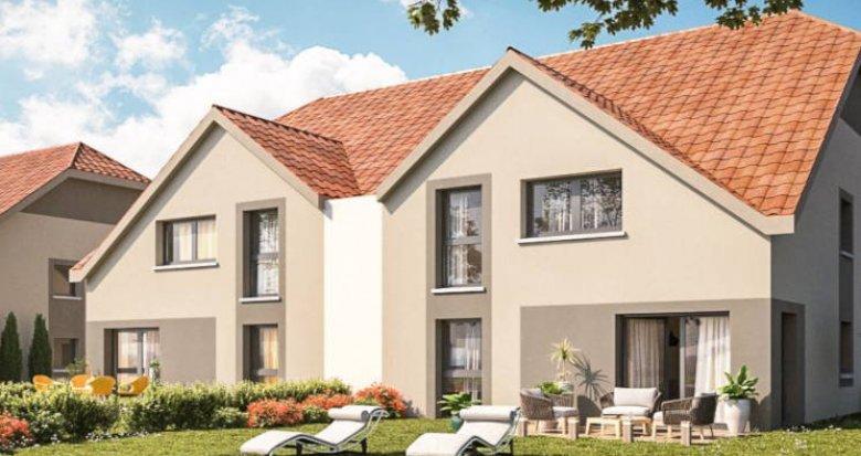 Achat / Vente appartement neuf Meistratzheim proche Obernai (67210) - Réf. 4352