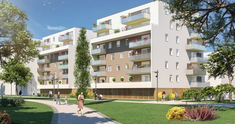 Achat / Vente appartement neuf Mulhouse proche tramway (68100) - Réf. 2821
