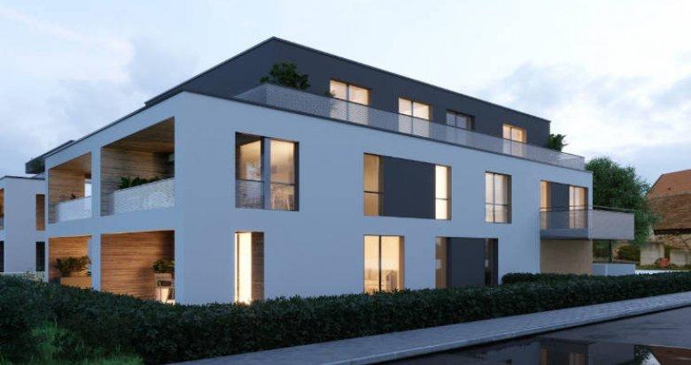 Achat / Vente appartement neuf Niederhausbergen à 200 mètres du bus (67207) - Réf. 4727