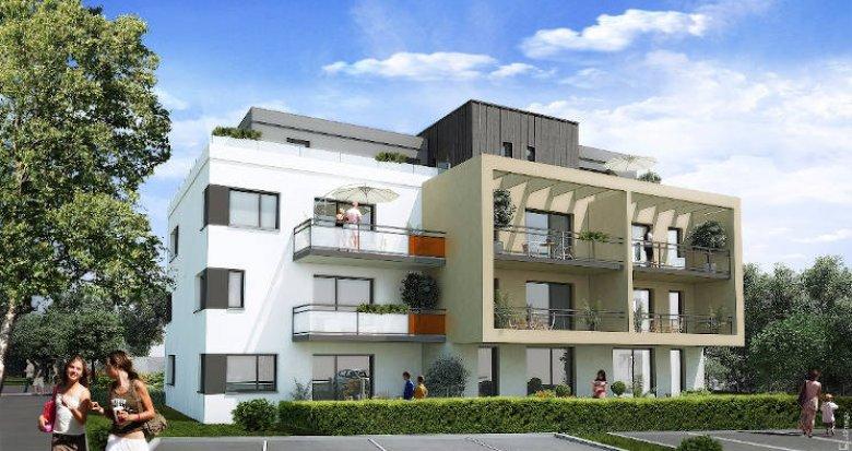 Achat / Vente appartement neuf Pfastatt proche coeur de ville (68120) - Réf. 4106