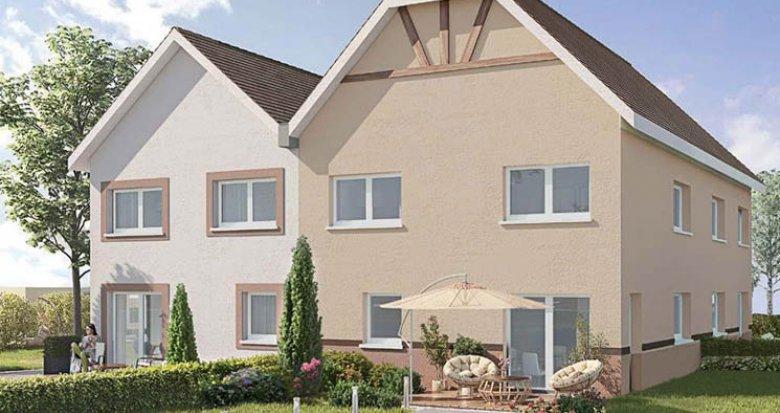 Achat / Vente appartement neuf Saint-Pierre à 10 kilomètres d'Obernai (67140) - Réf. 4095