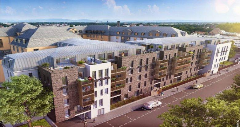 Achat / Vente appartement neuf Strasbourg au coeur du quartier de Neudorf Sud (67000) - Réf. 4140