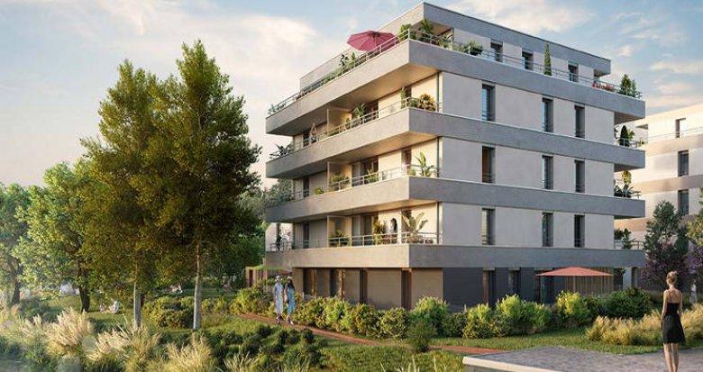 Achat / Vente appartement neuf Strasbourg aux portes de la nature (67000) - Réf. 5658