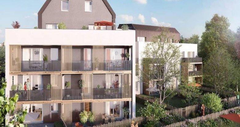 Achat / Vente appartement neuf Strasbourg bords du Rhin proche transports (67000) - Réf. 4675