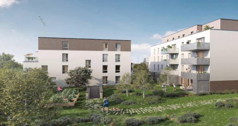 Achat / Vente appartement neuf Strasbourg Elsau à 300m du tramway B (67000) - Réf. 5694