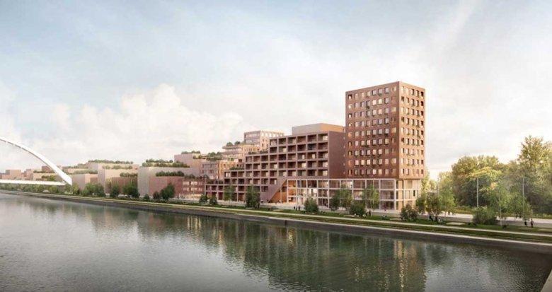 Achat / Vente appartement neuf Strasbourg face au Bassin Vauban (67000) - Réf. 4002