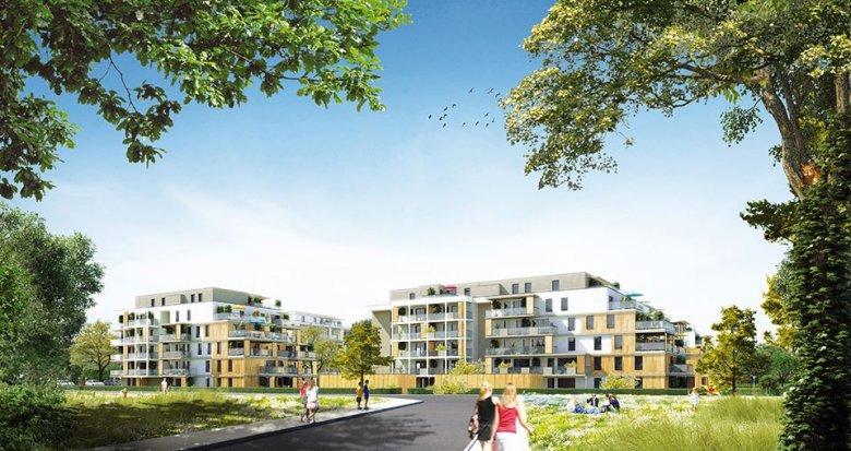 Achat / Vente appartement neuf Strasbourg proche du Canal de la Buche (67000) - Réf. 1910