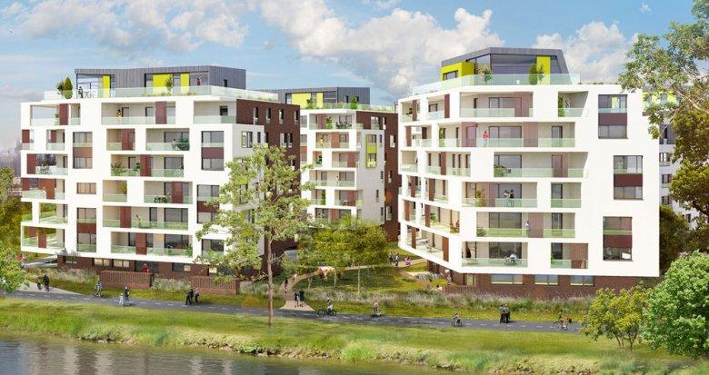 Achat / Vente appartement neuf Strasbourg proche la Petite France (67000) - Réf. 1522