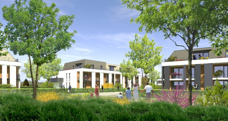 Achat / Vente appartement neuf Strasbourg quartier de la Robertsau (67000) - Réf. 1556