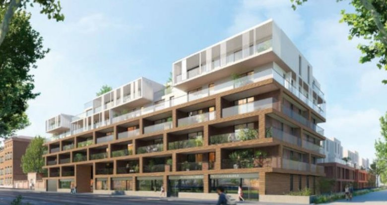 Achat / Vente appartement neuf Strasbourg quartier des quinze (67000) - Réf. 2990